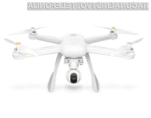 Dron Xiaomi Mi Drone za relativno nizko ceno ponuja veliko naprednih možnosti.