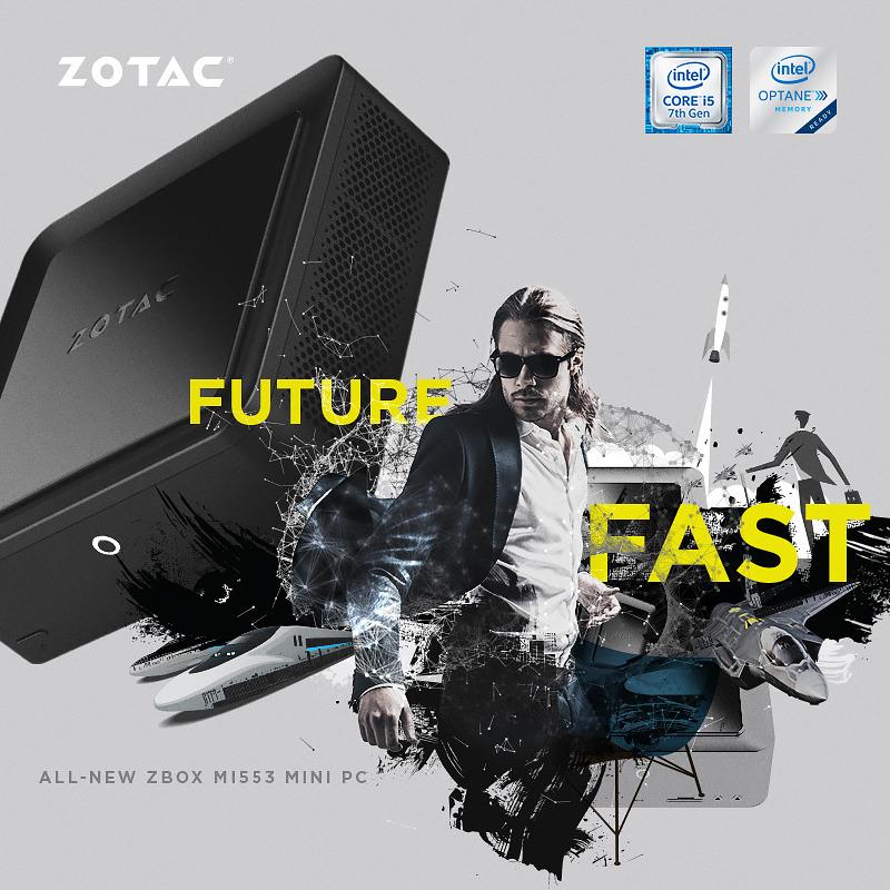 Računalnika Zotac ZBOX serije M in Zotac ZBOX serije P sta bila razvita z namenom doseganja neprimerljive hitrosti in majhnih dimenzij