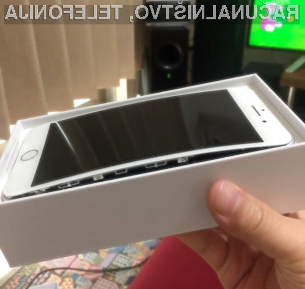 Lastniki telefonov iPhone 8 imajo resne težave z napihljivimi baterijami