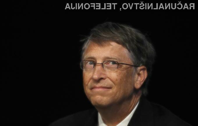 Kje tiči skrivnost bogastva Billa Gatesa?