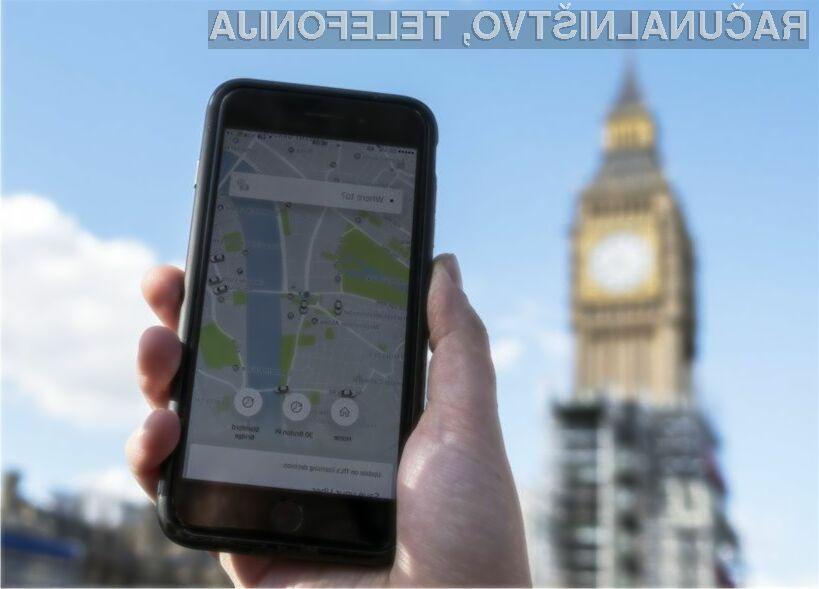 Uber na sodišče zaradi izgube licence v Londonu