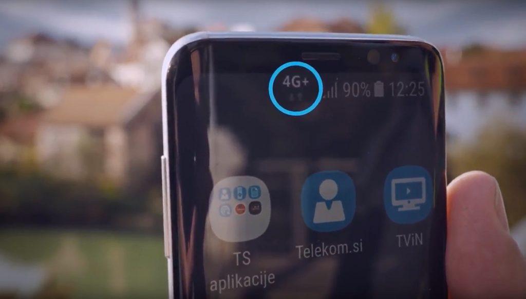 Telekom Slovenije nadgrajuje mobilno omrežje s tehnologijo 4G+