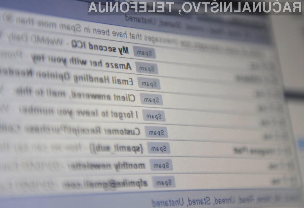 Nikar ne odpiranje priponk, ki vam jih v elektronskem sporočilu pošiljajo neznani pošiljatelji.