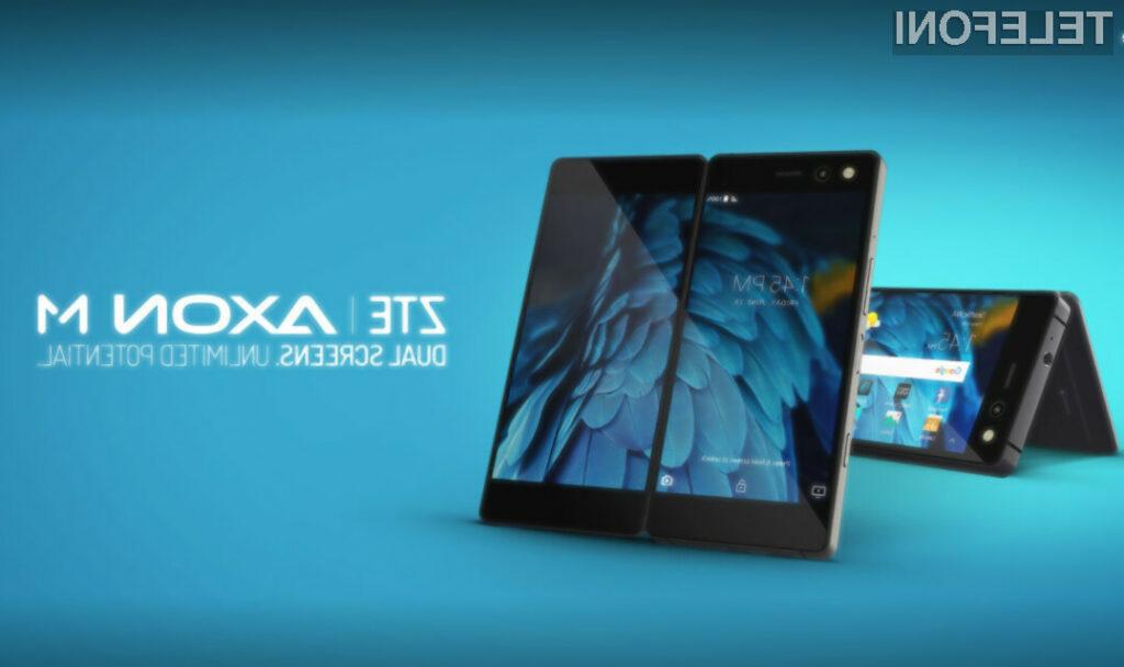 Pametni mobilni telefon ZTE Axon M izgleda naravnost fantastično!