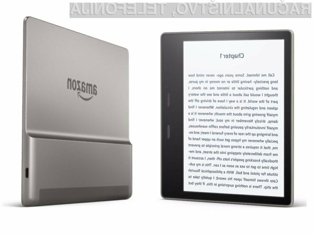 Novi Amazon Kindle Oasis lahko brez težav preživi do 60 minut v vodi na globini dveh metrov.