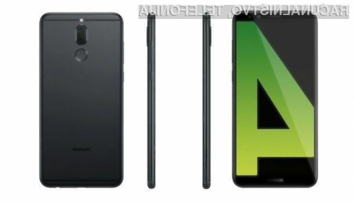 Za odlični Huawei Mate 10 Lite bo treba odšteti le okoli 350 evrov.