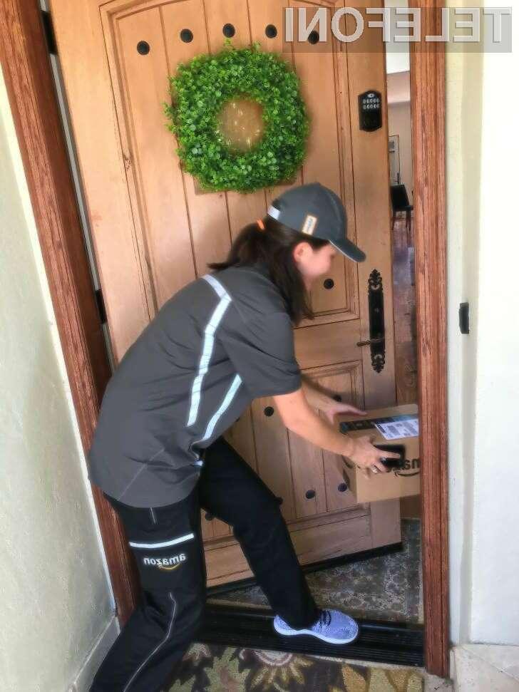 Amazon bo pakete dostavljal kar v hiše in stanovanja