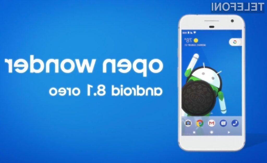 Že veste, kaj prinaša novi Android 8.1 Oreo?