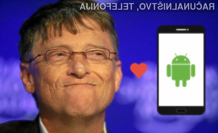 """Če se Bill Gates odpove """"lastnemu"""" operacijskemu sistemu, potem ta verjetno nima svetle prihodnosti."""