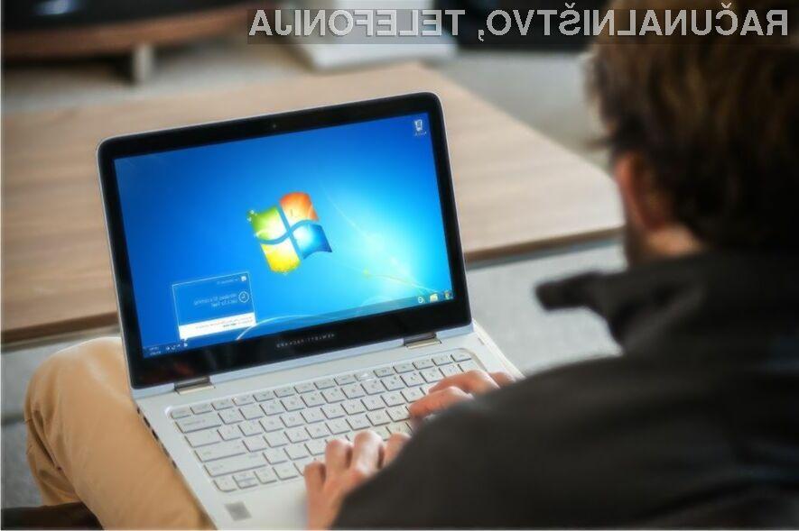Delež operacijskega sistema Windows 7 počasi a vztrajno upada!