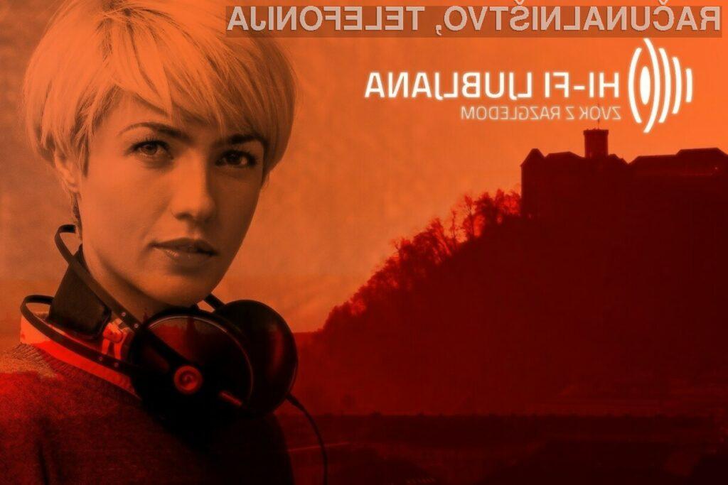 Konec tedna bo Ljubljana v znamenju vrhunskega zvoka in gibljive slike