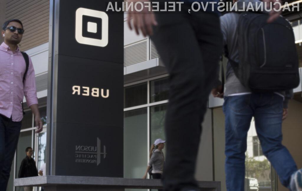 Kiber napad na Uber prizadel več kot 57 milijonov uporabnikov