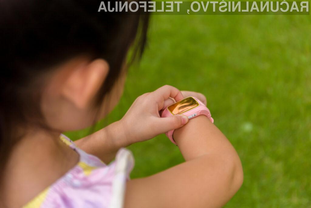 Nemčija prepovedala pametne ročne ure za otroke