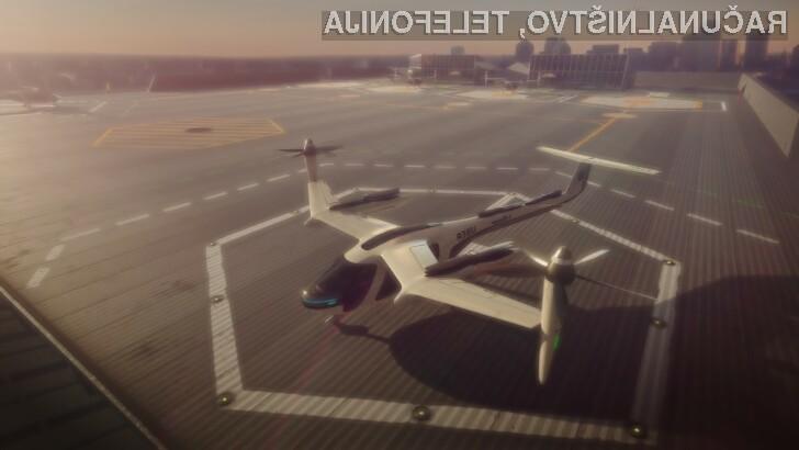 Leteči taksiji? Uber in NASA skupaj proti visokoletečemu cilju