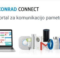 Conrad Connect - Nadzorni portal za komunikacijo pametnih naprav