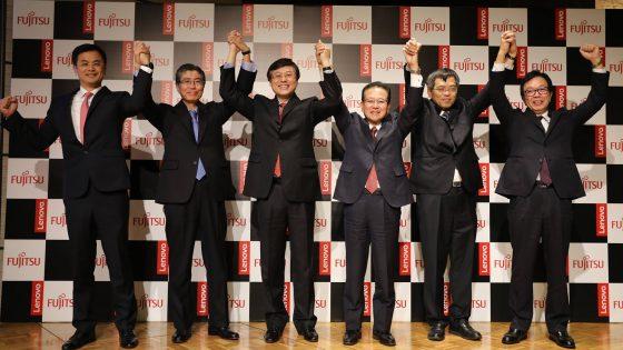 Fujitsu, Lenovo in DBJ s skupnim podjetjem