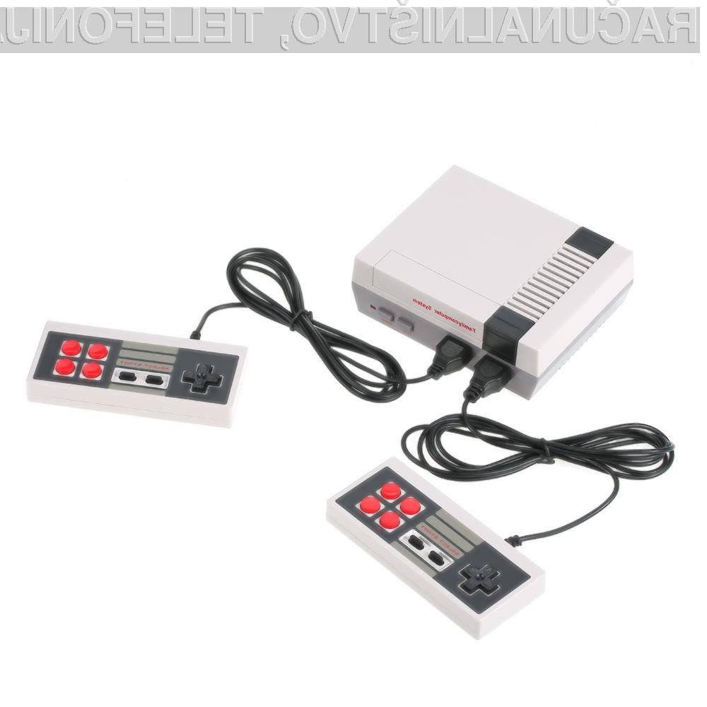 Legendarni NES je lahko vaš že za manj kot 6 evrov