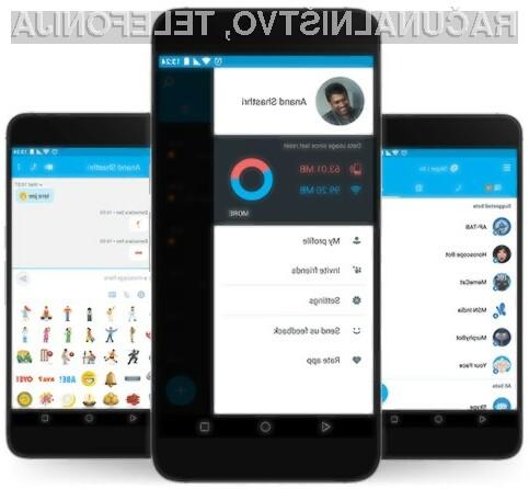 Skype Lite lahko uporabljamo tudi v omrežjih 2G!