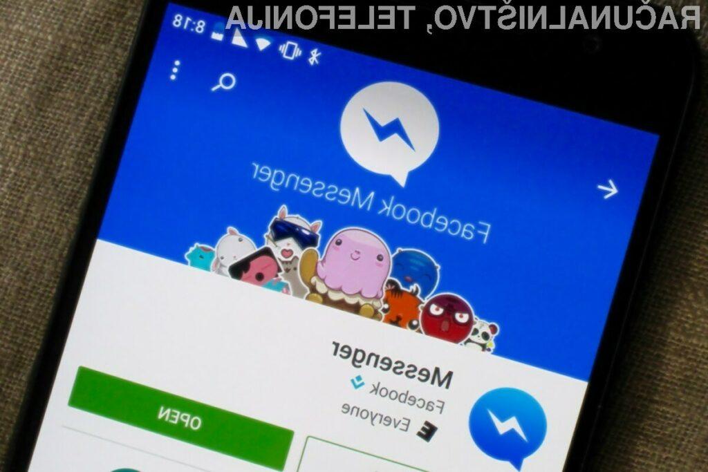 Novi Facebook Messenger omogoča objavljanje fotografij do ločljivosti 4.096 x 4.096 slikovnih točk.