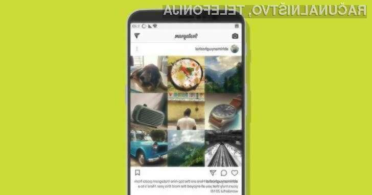 Vas zanima, kako ugotovite, katerih je vaših 9 najboljših fotografij na Instagramu?