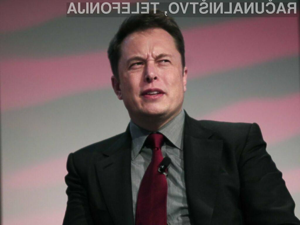Prvi mož Tesle, Elon Musk, leto 2017 ocenjuje tako ...