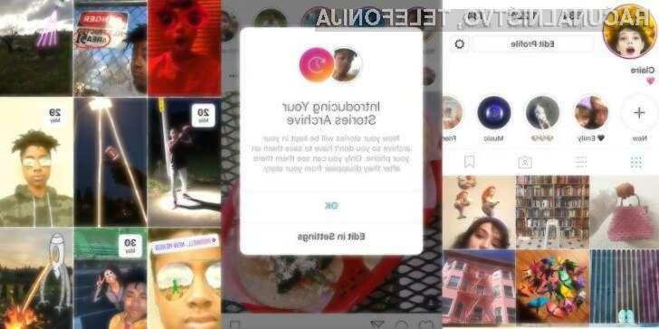 """Instagram predstavlja """"Instagram Stories"""" arhiv"""