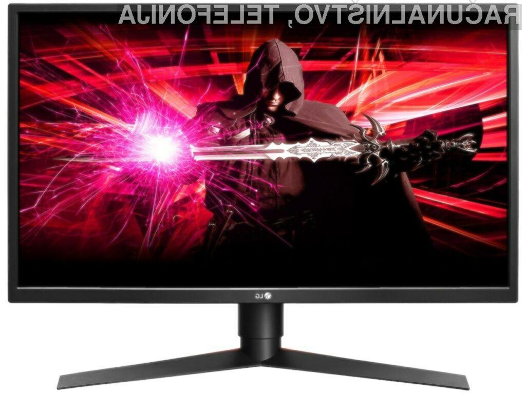 Zaslon LG 27GK750F-B bo zlahka prepričal tudi najzahtevnejšega ljubitelja iger!