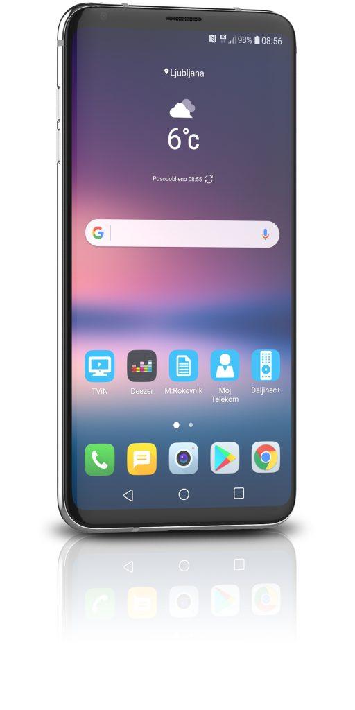 Mobitel LG V30  v akcijski ponudbi Telekoma Slovenije
