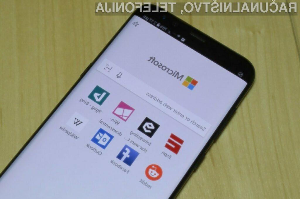 Novi Microsoft Edge za Android se obnese naravnost fantastično.