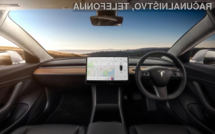 Tesla pripravlja revolucionarno posodobitev navigacijskega sistema za leto 2018
