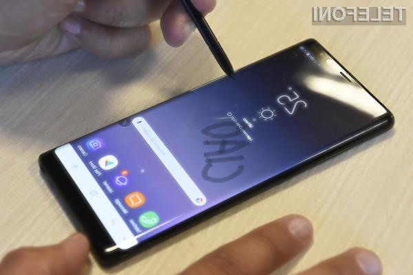 Če povsem izpraznite vaš Galaxy Note8, ga morda ne boste več uspeli vključiti