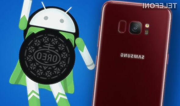 Posodobitev na Android 8.0 Oreo bo uporabnikom telefonov Galaxy S8 in S8+ uradno na voljo od januarja.