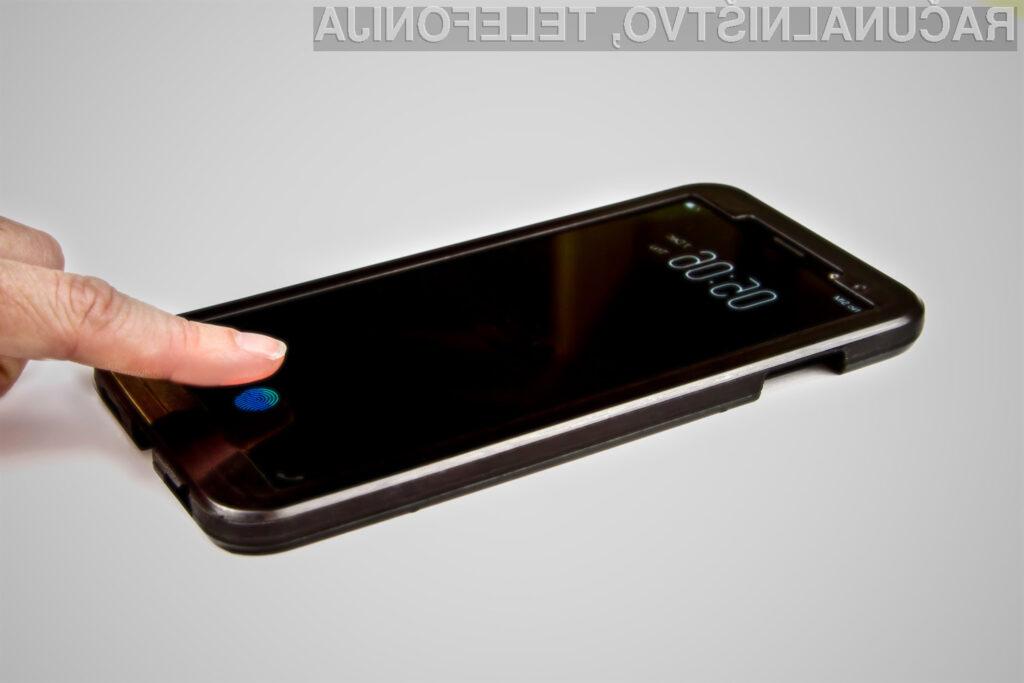 Bralnik prstnih odtisov pod zaslonom bo uporabnikom na voljo kmalu!