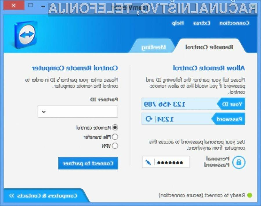 Če uporabljate TeamViewer, ga nemudoma posodobite