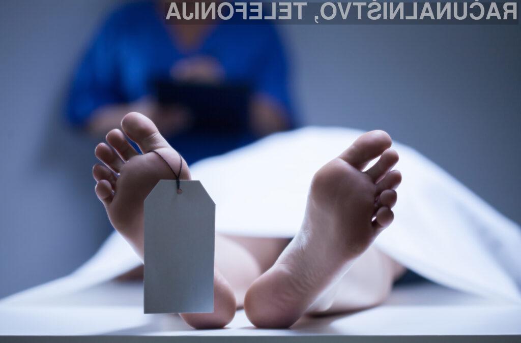 Aplikacija, ki lahko predvidi, kdaj bo nekdo umrl