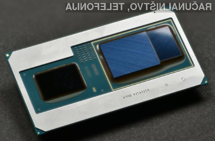 Intelov procesor z vgrajeno grafično kartico AMD bo omogočil izdelavo kompaktnejših igričarskih prenosnikov!