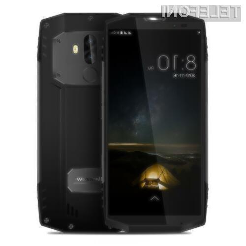 Pametni mobilni telefon Blackview BV9000 Pro na bo zagotovo dolgo služil!