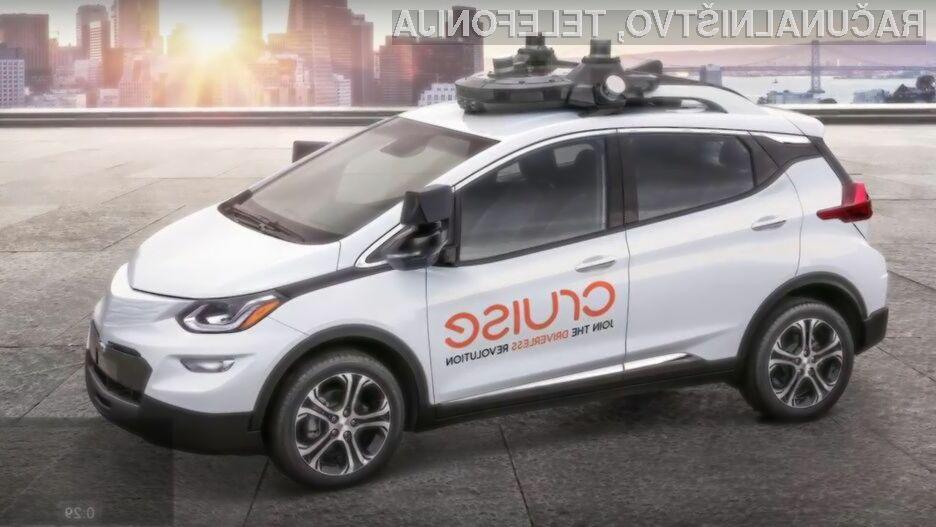 Cruise AV je GM-ov prvi avtomobil brez volana