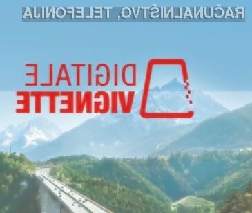 Za avtoceste v sosednji Avstriji na voljo digitalna vinjeta