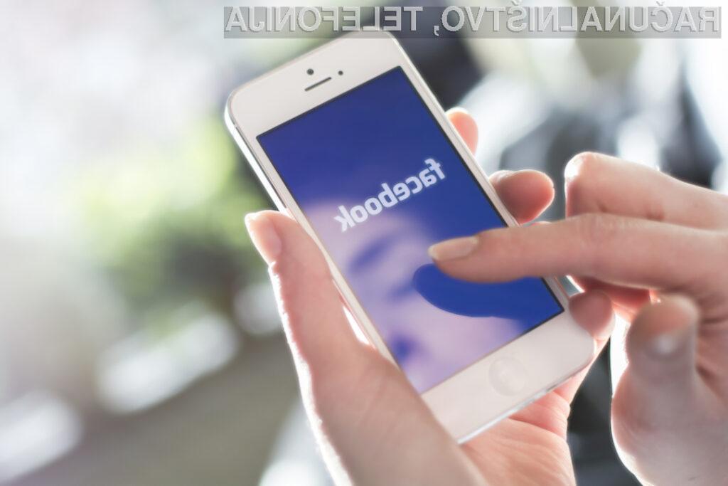 Facebookova mobilna naprava naj bi omogočala opravljanje videokonferenc!