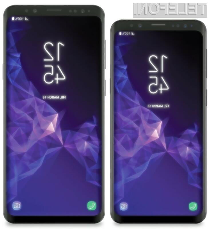 Tako bosta videti težko pričakovana telefona Galaxy S9 in S9 +
