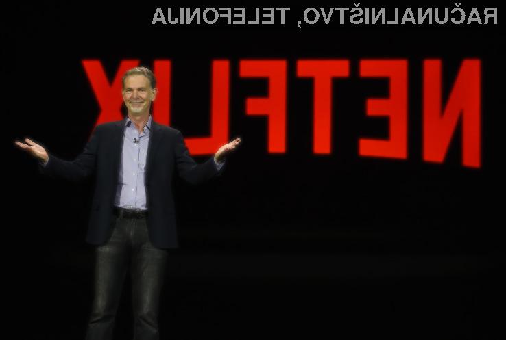 Netflix danes prvič vreden 100 milijard ameriških dolarjev