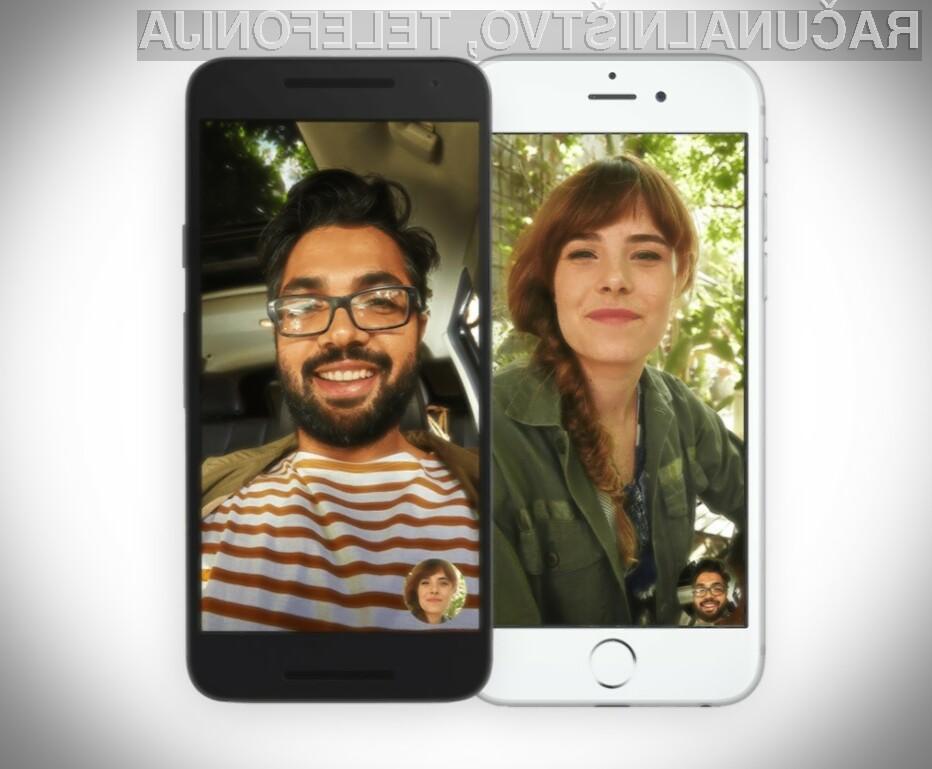Google Duo z novo možnostjo, ki se ji ni mogoče upreti