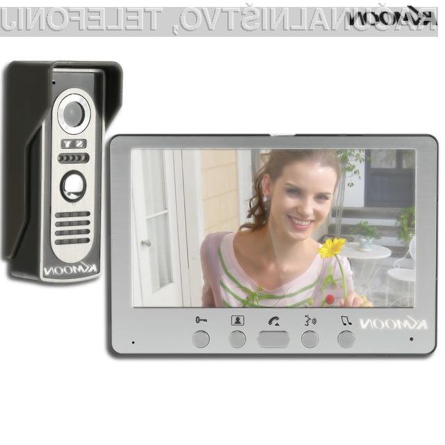 Kakovostni video domofonom Kkmoon je lahko naš že za manj kot 55 evrov.