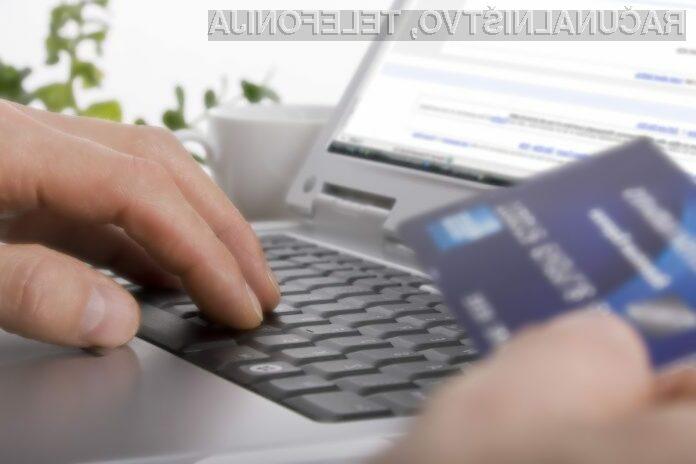Konec dodatnih procentov pri plačilu s kartico preko spleta