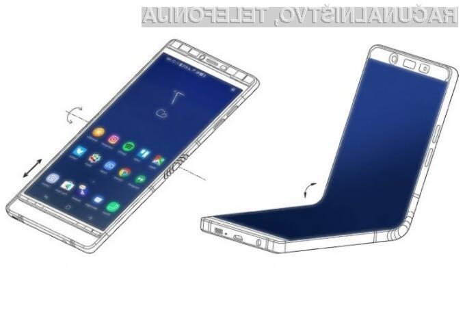Prvi upogljivi pametni mobilni telefon Samsung Galaxy X naj bi bil naprodaj šele na začetku naslednjega leta.