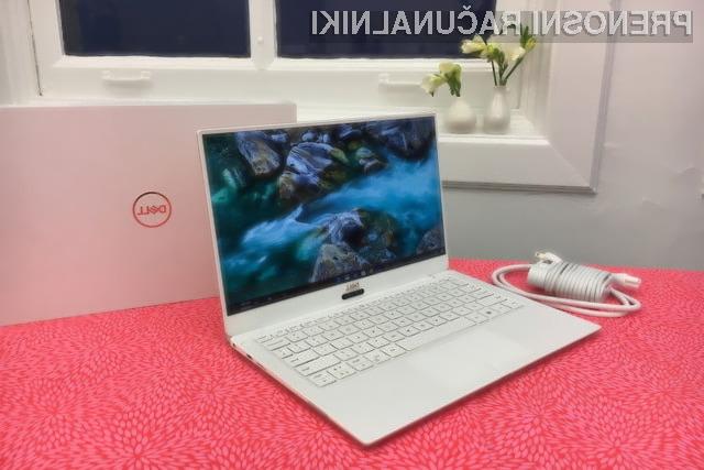 Dellov XPS 13 je najbolj težko pričakovani prenosnik CES-a 2018