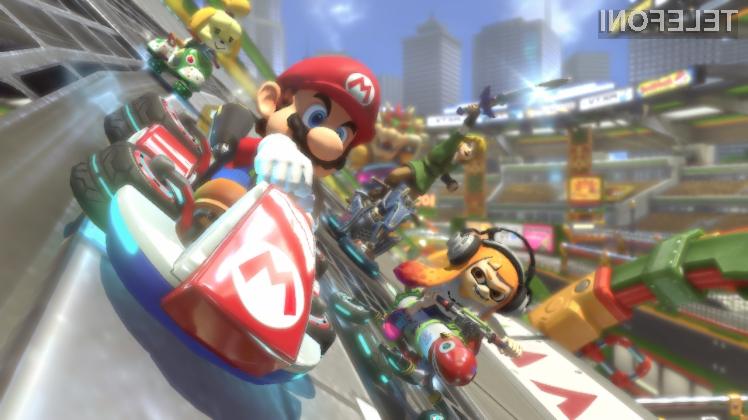 Mario Kart kmalu na telefonih