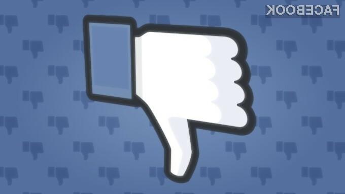 """Facebook testira gumb """"dislike"""", ki pa je veliko več kot samo to"""
