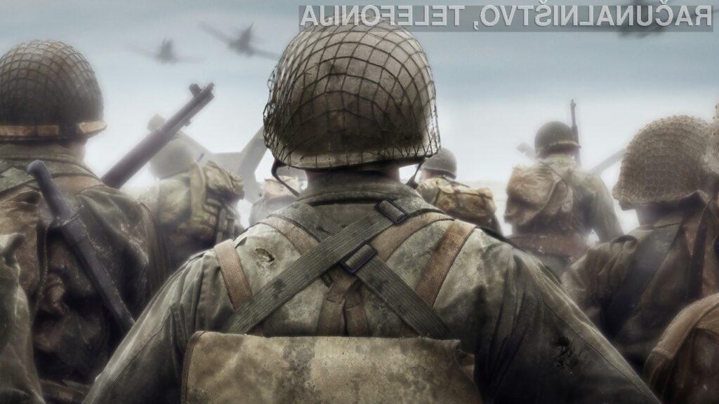 Preizkusili smo igro Call of Duty WWII